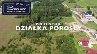 Prezentacja nieruchomości w Porosłach. Realizacja SzkoleniaDrony.com
