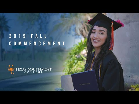 Full Video - 2019 Fall Commencement at Texas Southmost College