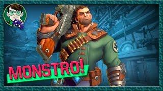 Paladins: Jogando com o Viktor, pode vir monstro!