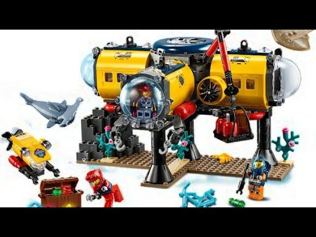 Speedbuild: Lego City 60265 Meeresforscher🐋