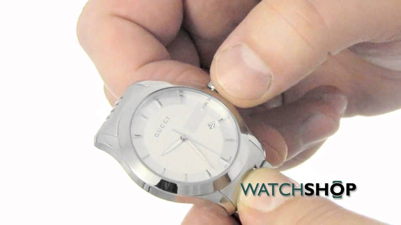 de33345631a Men s Gucci G Timeless Watch (YA126401) - YouTube