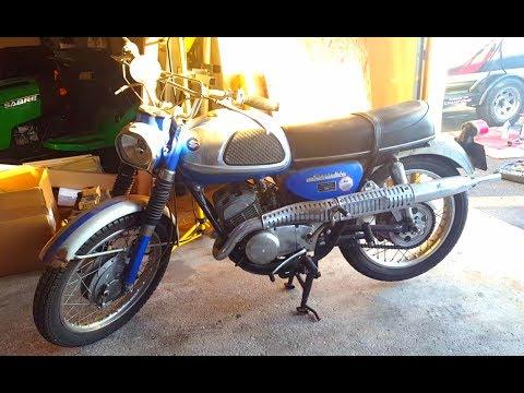 I Picked up a 1967 Suzuki TC250!!!