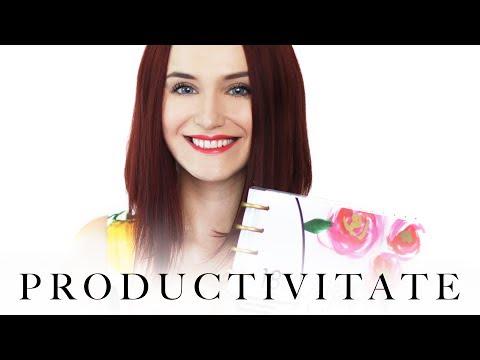 Cum sa fii mai productiv(a) si mai organizat(a)