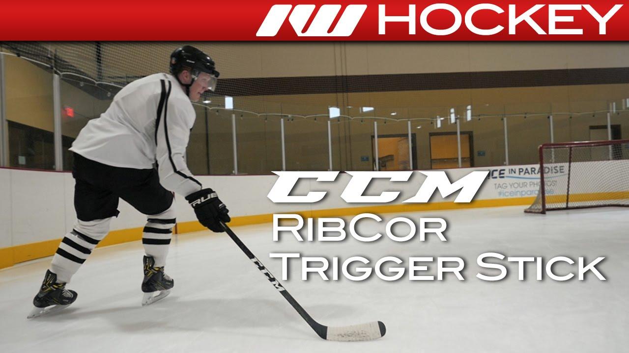 melko mukava uusi luettelo verkkokauppa CCM Ribcor Trigger ASY Refurbished Hockey Stick ...