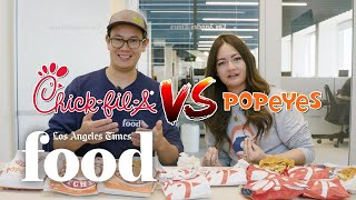 Popeyes vs. Chick-fil-A: Who has the best chicken sandwich?
