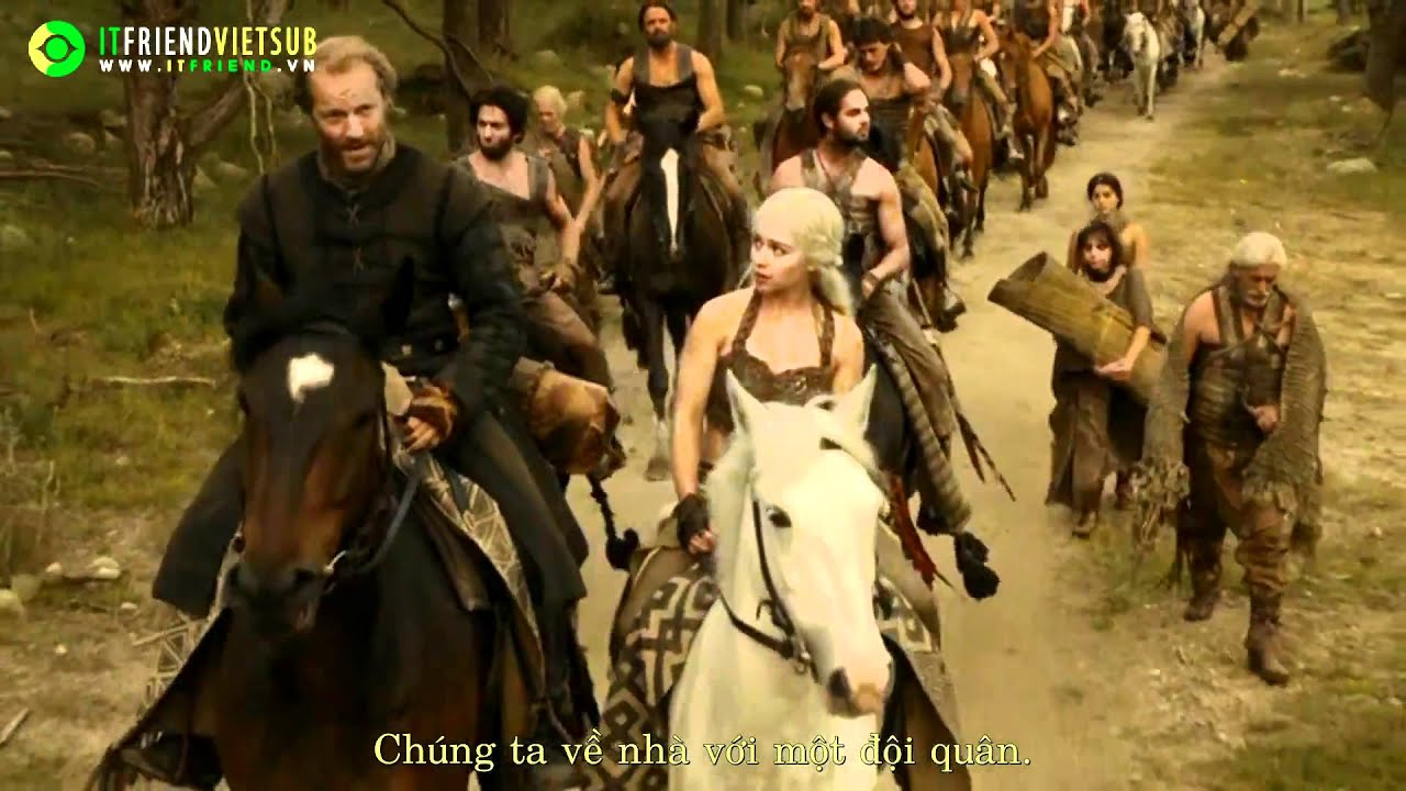 [Itfriend Vietsub] Game Of Thrones –  Trailer 2