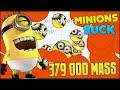 379 902 MASS - BIG FAT MINIONS ATTACK AGARIO (Agar.io FFA RAINBOW #111)