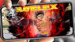 Roblox - Cày Game Đến Hư Điện Thoại Bác Tô Cân Nhắc Bỏ Anime Fighting Simulator