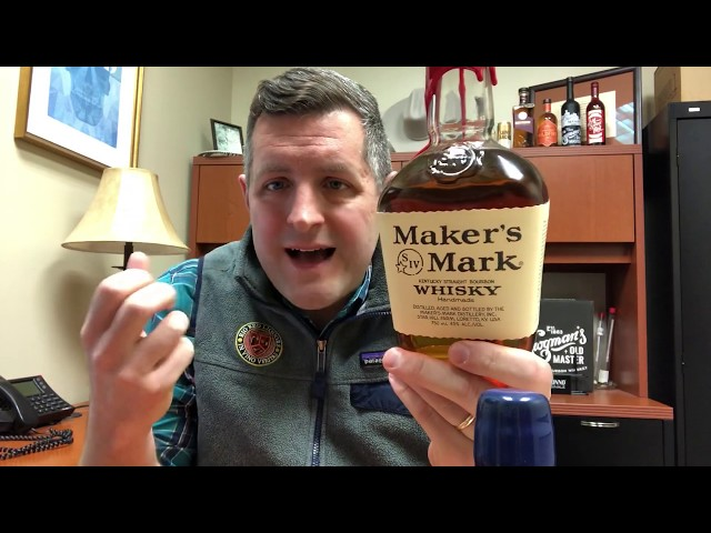 Maker's Mark Pacers Bottle and In Depth Review