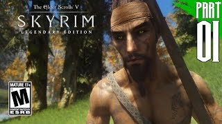 SKYRIM (200+ MODS) | Wood Elf Gameplay Walkthrough Part 1 [PC - HD]