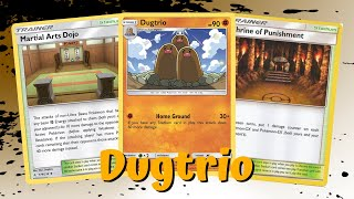 Dugtrio Home Ground Budget Build Unbroken Bonds Deck, PTCGO Gameplay