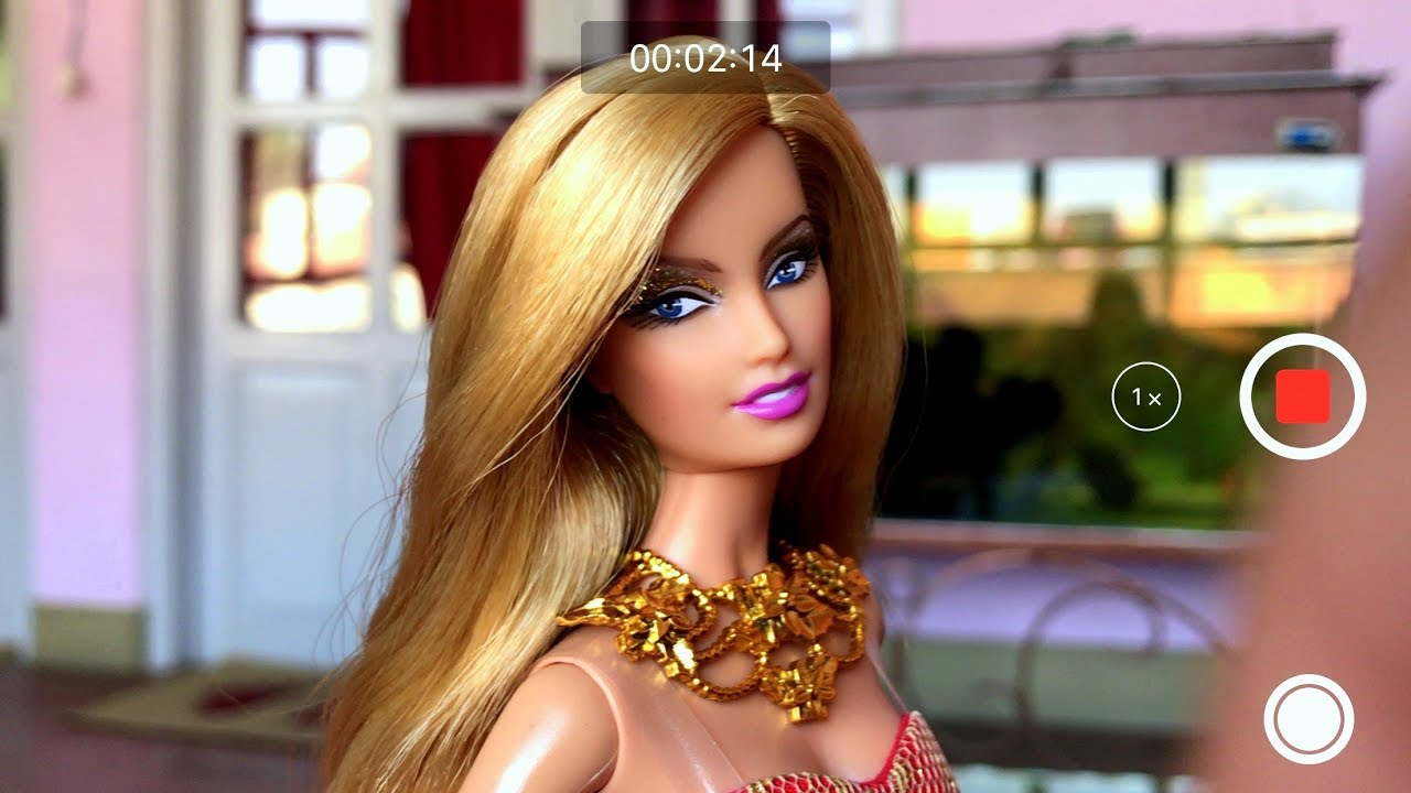 Barbie th anniversary gold glamour doll restyle review
