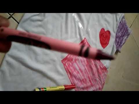 7d0f28dd1edd6 DIY Summer Sandals Redecorate   Restyle your Flip Flops(Binal Kathiria) DIY    Craft. DIY T-shirt design by only using crayons