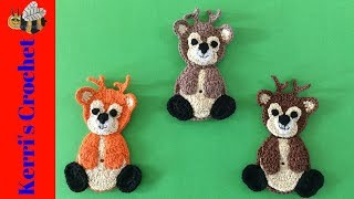 Crochet Deer Tutorial