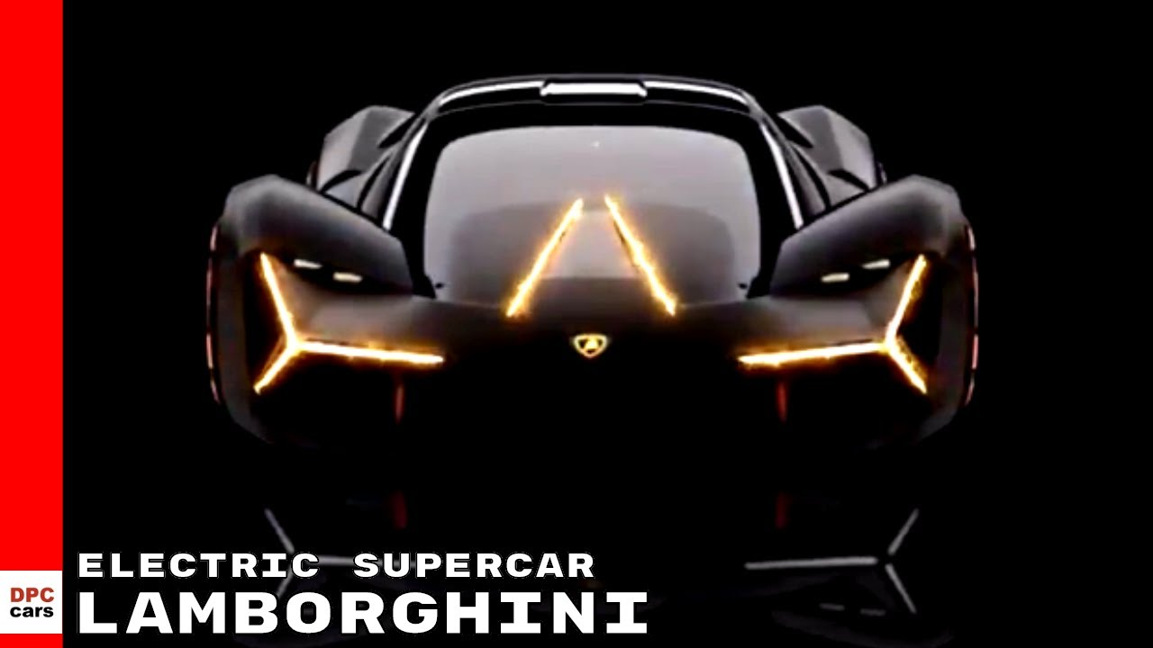Lamborghini Terzo Millennio Electric Supercar Youtube