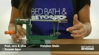 Apple Peeler With Vacuum Base At Bed Bath & Beyond
