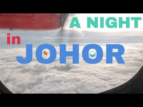 Vlog 17 - A Night in Johor (Assam Pedas, Chicken Chop & Shopping!)