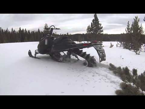 Big Horn Mountains Snowmobiling 2016