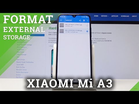 How To Transfer Data To SD Card N XIAOMI Mi A3 - Move Media To External Storage