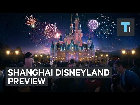 Shanghai Disneyland preview