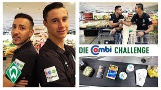 Shopping Challenge mit Kevin Möhwald & Marco Friedl  | Werder Bremen & Combi