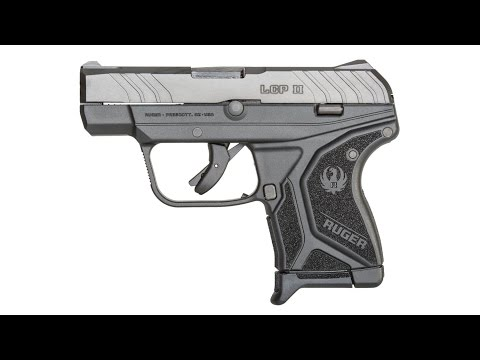 Ruger's New Exciting LCP II Pistol is a Concealed Carrier's