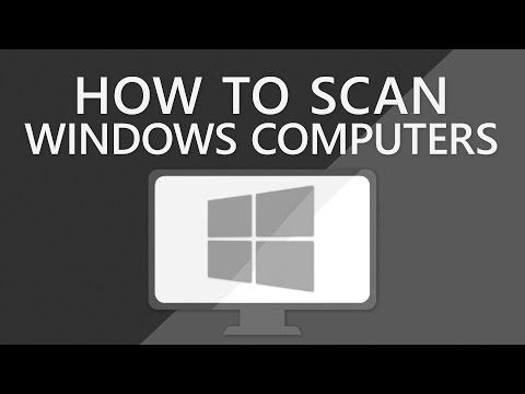 How to scan a Windows computer   Lansweeper   IT Discovery