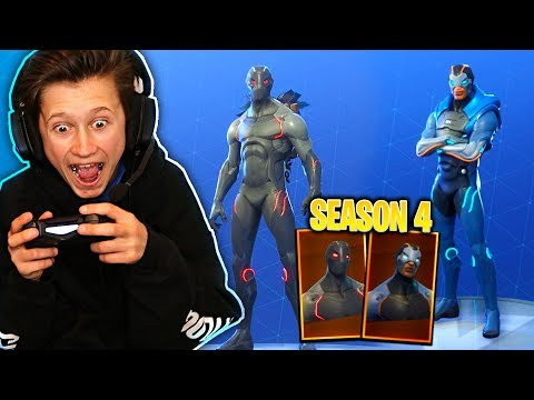 1 KILL = 1 SEASON 4 SKIN FOR MY LITTLE BROTHER! NEW SEASON 4 SUPERHERO SKINS