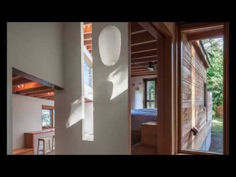 Unique Architectural Wood House in Central Covering an area of 77 m2 Inland Forest