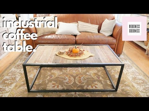 DIY Steel & Pallet Coffee Table