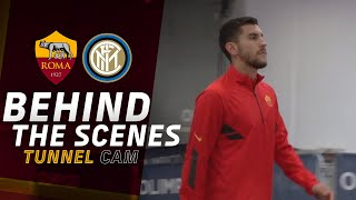 BEHIND THE SCENES 👀 | Roma v Inter | Tunnel CAM 2020-21