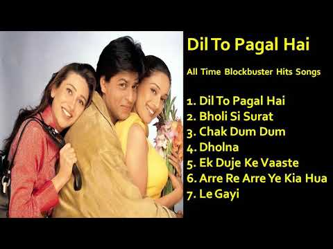 Download Dil To Pagal Hai All Time Hits Songs