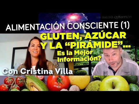 Gluten, Azúcar y la Pirámide: la Mejor Información? Alimentación Consciente, con Cristina Villa (1).