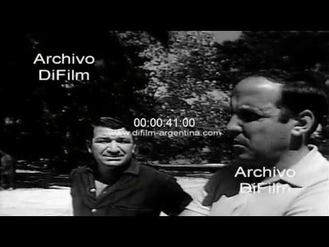 DiFilm - Concentracion de Estudiantes de La Plata en el Country Club 1968
