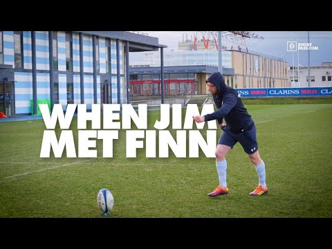 When Jim Hamilton Met Racing 92's Finn Russell | All Access | Rugby Interview | RugbyPass