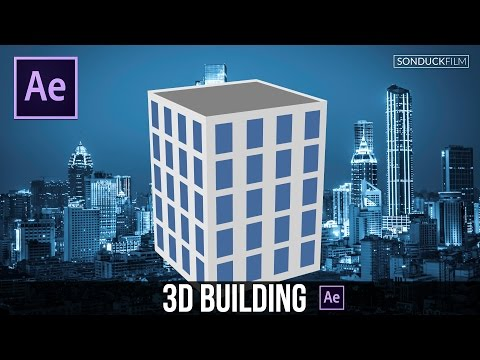After Effects Tutorial: Flat 3D Building (No Plugins)
