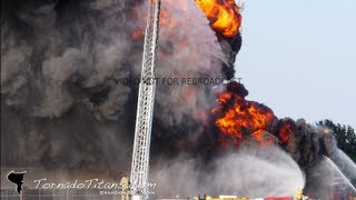 8/25/13 Norman, OK Hibdon Tires - Fire and Explosions