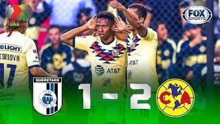 Querétaro - América [1-2] | GOLES | Jornada 5 | Liga MX
