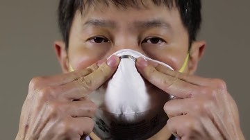 How to Wear a 3M™ N95 8210 Respirator