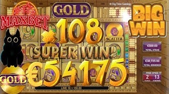 GOLD (BTG) SUPER WIN €54 175 MAX BET €500 (ONLINE CASINO)