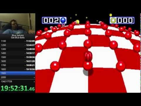 Blue Sphere - Beat 2222 Stages in 24:04:52 (24+ hour stream)