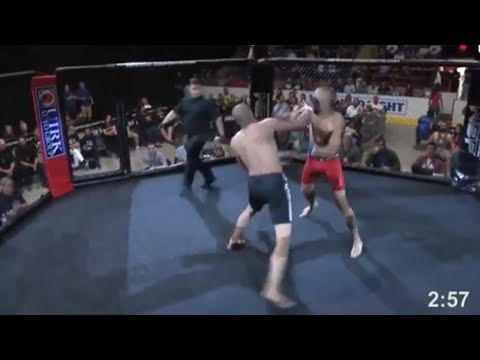 MMA Fighter Gets KO'd in 4 Seconds!