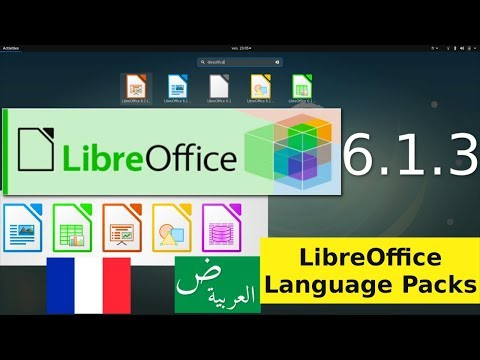 How To Install Language Packs For Libreoffice And Add Additional Languages To LibreOffice's UI