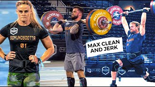 How much can Elite Crossfit® Athletes Clean and Jerk