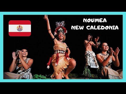 NEW CALEDONIA, beautiful MELANESIAN DANCING, NOUMEA