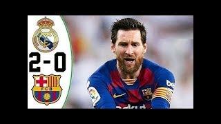 Реал обыграл Барселону Месси закрыли