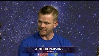 LEGO DC Super Villains Arthur Parsons Interview at Playstation Live From E3 2018 Day 2