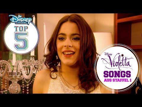 Die Disney Channel Top 5: Die Besten Violetta-Songs Aus Staffel 1   VIOLETTA