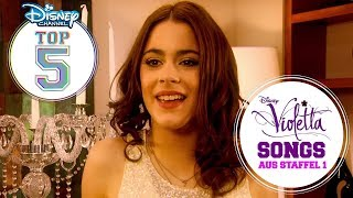 Die Disney Channel Top 5: Die besten Violetta-Songs aus Staffel 1 | VIOLETTA