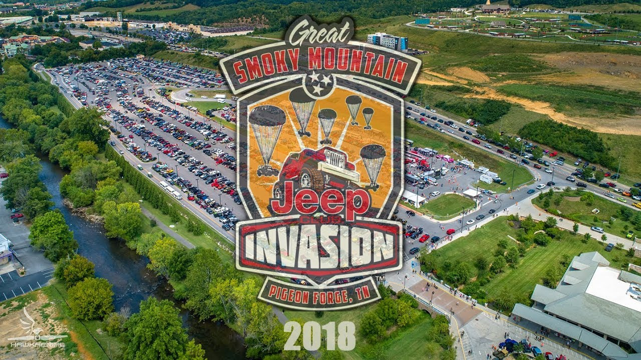 2018 Great Smoky Mountain Jeep Invasion Youtube